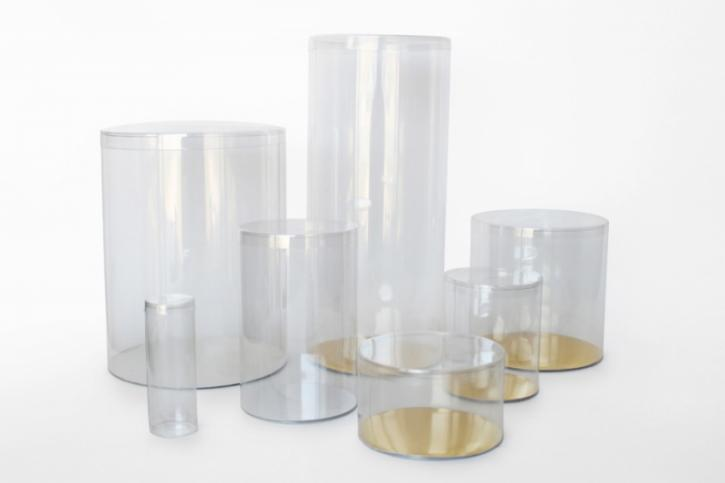Decorative Options for Transparent Tube Packaging