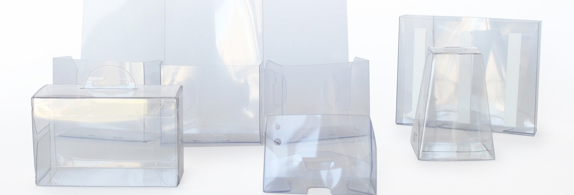 transparent tube packaging